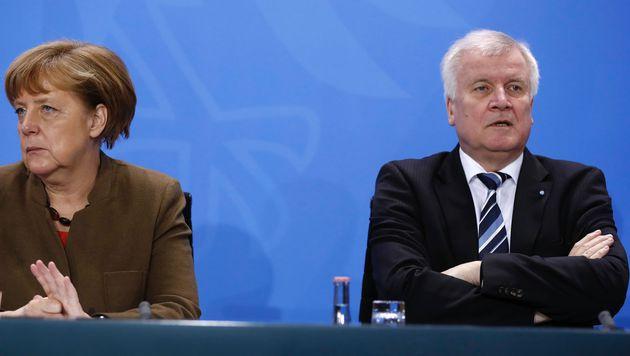 CSU-Chef Horst Seehofer kritisierte Angela Merkel zuletzt immer wieder scharf. (Bild: AFP)