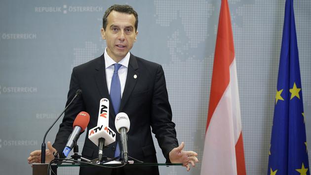 Österreichs Bundeskanzler Christian Kern findet absolut keinen Gefallen an Junckers CETA-Alleingang. (Bild: APA/BKA/ANDY WENZEL)