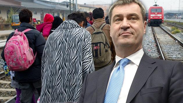 Der bayrische Finanzminister Markus Söder (Bild: APA/AFP/ANGELIKA WARMUTH, APA/HANS KLAUS TECHT)