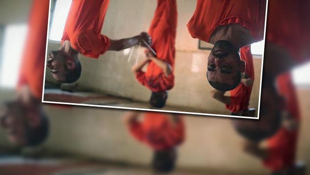 Opferfest: IS-Schlächter töten Gefangene wie Vieh (Bild: twitter.com/terror_monitor)