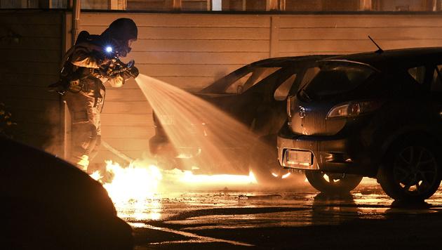 Asylkrise: Schwedens Polizei verliert Kontrolle (Bild: AP)