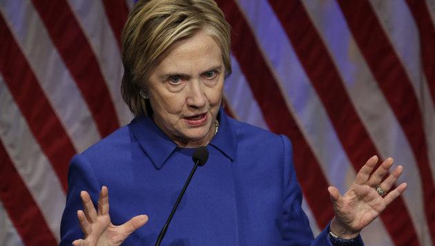 Hillary Clinton (Bild: APA/AFP/Yuri Gripas)
