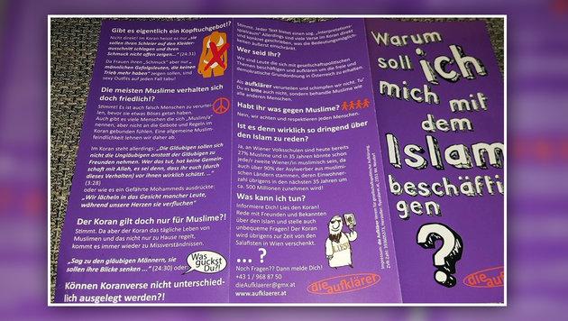 Islam-Broschüre sorgt bei Bewohnern für Aufregung