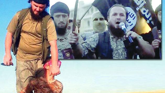 IS-Anführer und Hunderte Kämpfer wieder in Europa (Bild: LiveLeak.com)