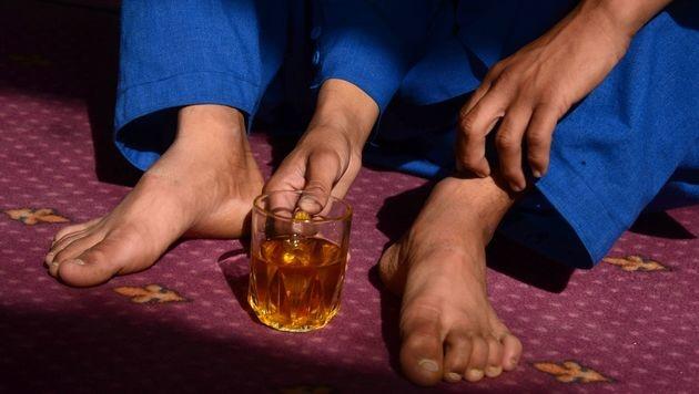 Gängige Praxis: Afghanische Buben als Sex-Sklaven (Bild: AFP)