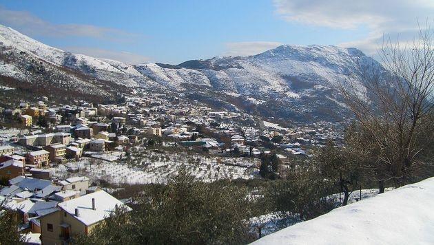 Die idyllische Ortschaft Vitulano in der italienischen Region Kampanien