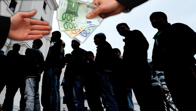 Korrupter Beamter verkaufte Asylbescheide! (Bild: APA/Hans Klaus Techt, APA/Helmut Fohringer)