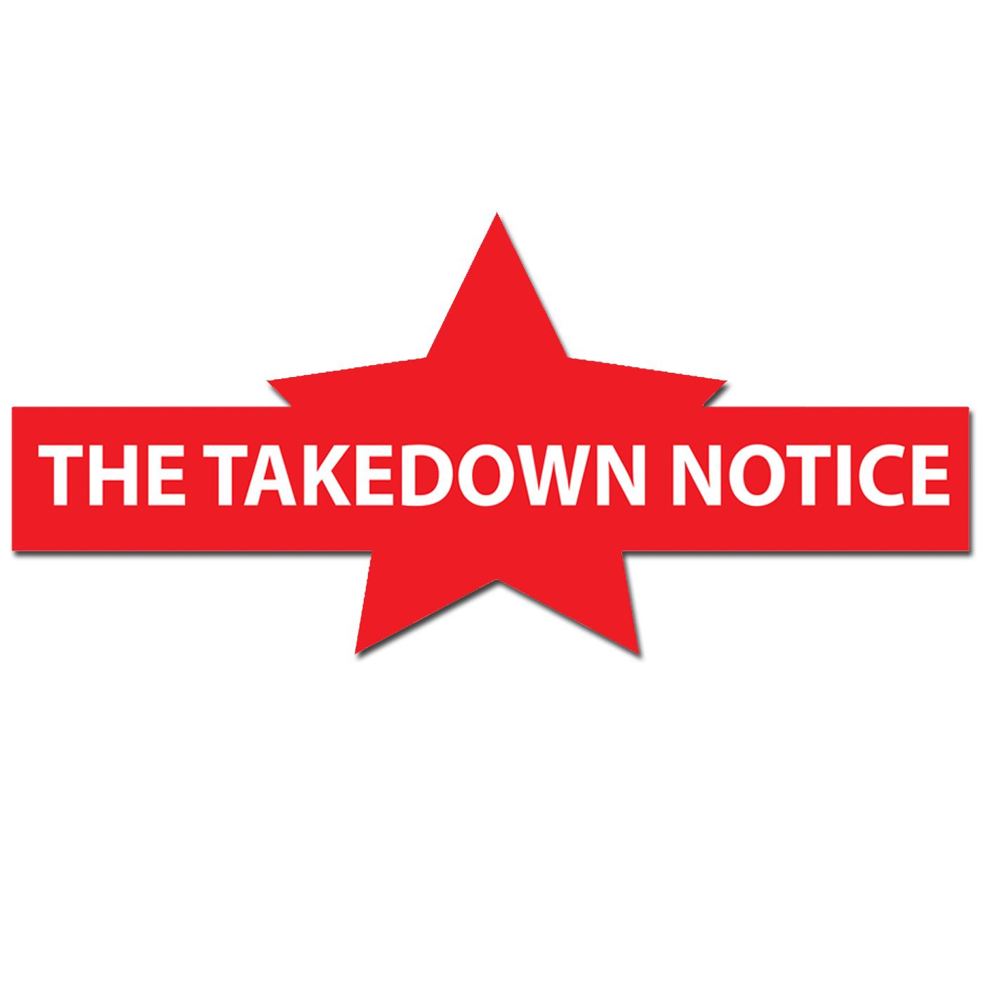 take down notice