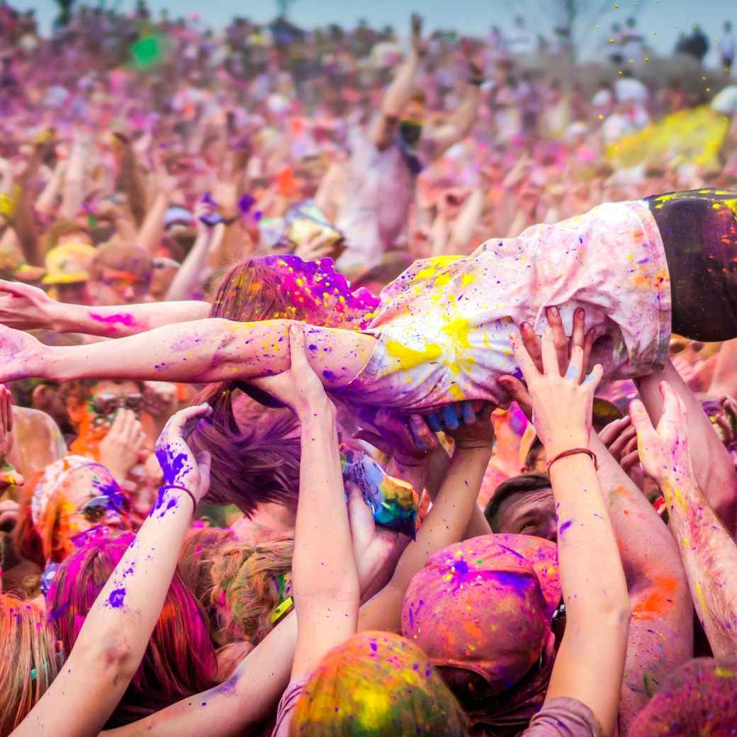 Image result for Holi Party By The Pool