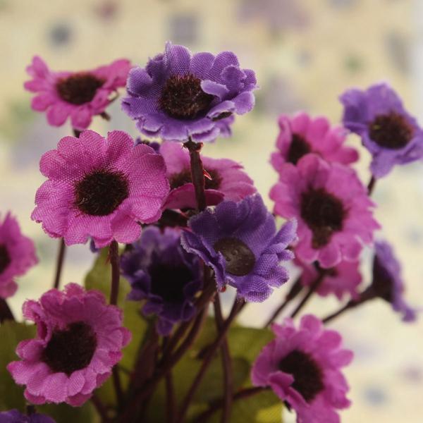 Artificial Sunflowers Silk Daisy Simulation Flower Bouquet Home Decor