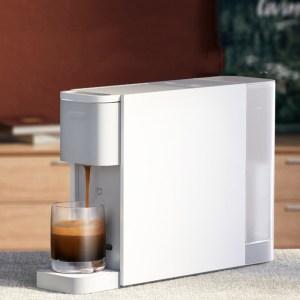 Στα €99.68 από αποθήκη Κίνας | Xiaomi Mijia S1301 Capsule Coffee Machine Compatible with Nespresso Capsule 20Bar Solenoid Pump Removable 600ml Water Tank