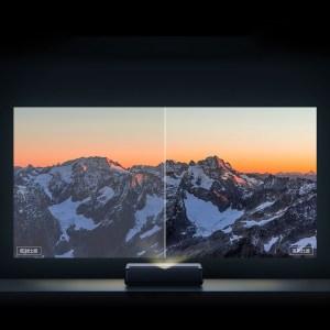 Στα 1.419,69€ από αποθήκη Κίνας | Newest VersionXiaomi Mijia 1S 4K Cinema Laser Projector 2000 ANSI Lumens 150 inch ALPD 4K 3D BT 4.0 MIUI TV Xiaomi Projector