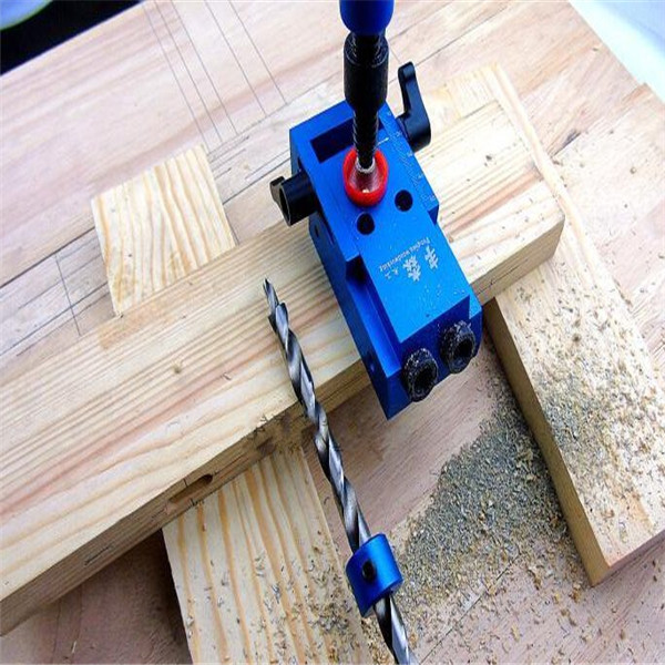 Woodworking Tool Kreg Style Pocket Hole Jig Woodwork Guide Repair Carpenter Kit System