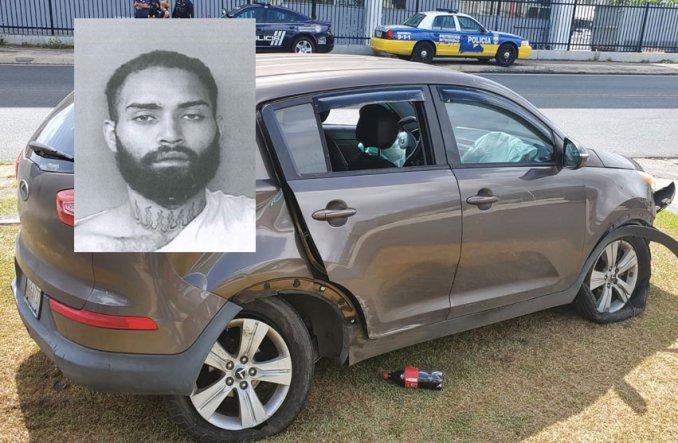 """Atrapan a """"Pedro El Escamoso"""" con auto robado y es ingresado a prisión"""