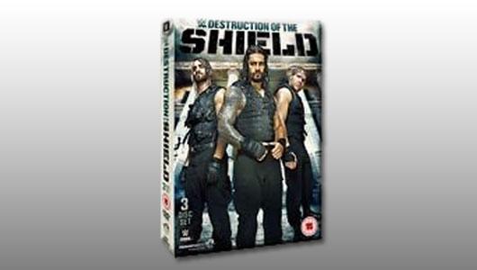 watch wwe destruction of the shield 2015 dvd