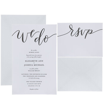 In particular, if you're asked to give a speech, it's an opportunity to show how much you care. We Do Wedding Invitations Hobby Lobby 1735216
