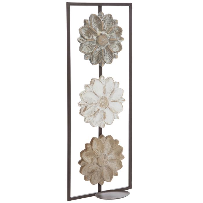 Flower Metal Wall Sconce   Hobby Lobby   1800481 on Wall Sconces Hobby Lobby id=69252