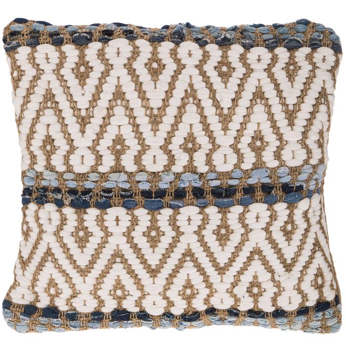 jute denim woven pillow cover hobby lobby 1592476