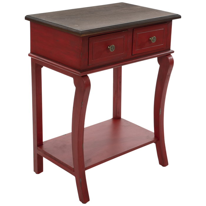 https www hobbylobby com home decor frames furniture tables distressed red wood side table p 81010883