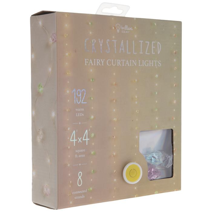 faceted crystal led curtain lights hobby lobby 2004281