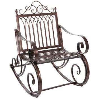 bronze metal rocking chair hobby lobby 5055280