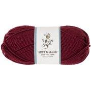 Burgundy Yarn Bee Soft & Sleek Yarn | Hobby Lobby | 80787638