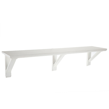 White Distressed Wood Wall Shelf Hobby Lobby 1458355