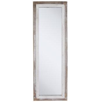whitewash wood wall mirror hobby lobby 1664416