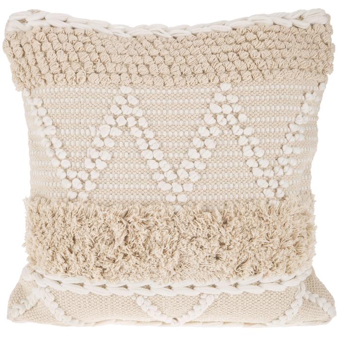 natural white fringe pillow cover hobby lobby 1592450