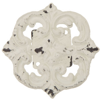 distressed white metal tieback hobby lobby 1497601