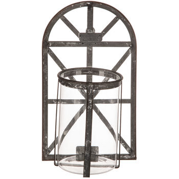 Distressed Arch Metal Wall Sconce   Hobby Lobby   1720127 on Wall Sconces Hobby Lobby id=64721