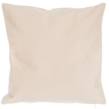 natural canvas pillow cover 18 x 18