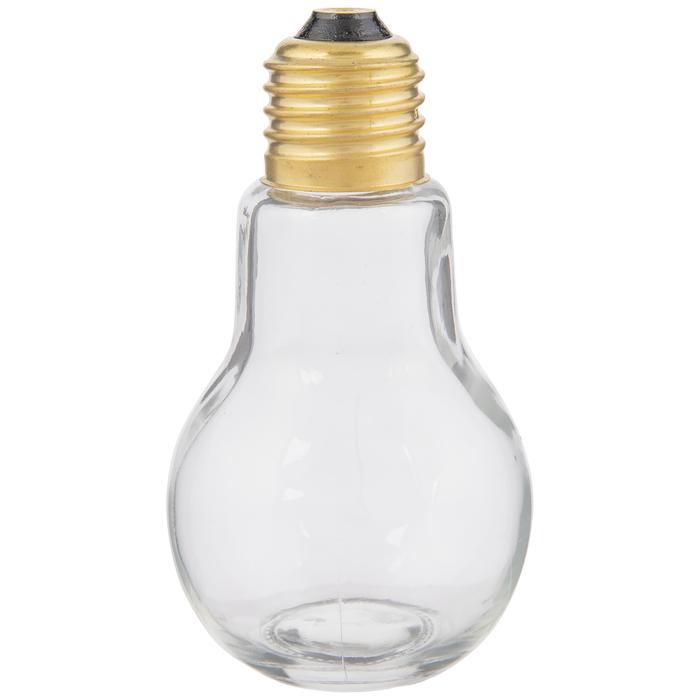 light bulb glass jar 3 5 ounce