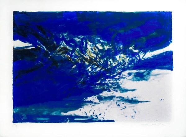 ZAO Wou-Ki - Untitled Lithograph 1998 - #1369194 - Place ...