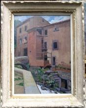 mathilde arbey painting le vieux moulin