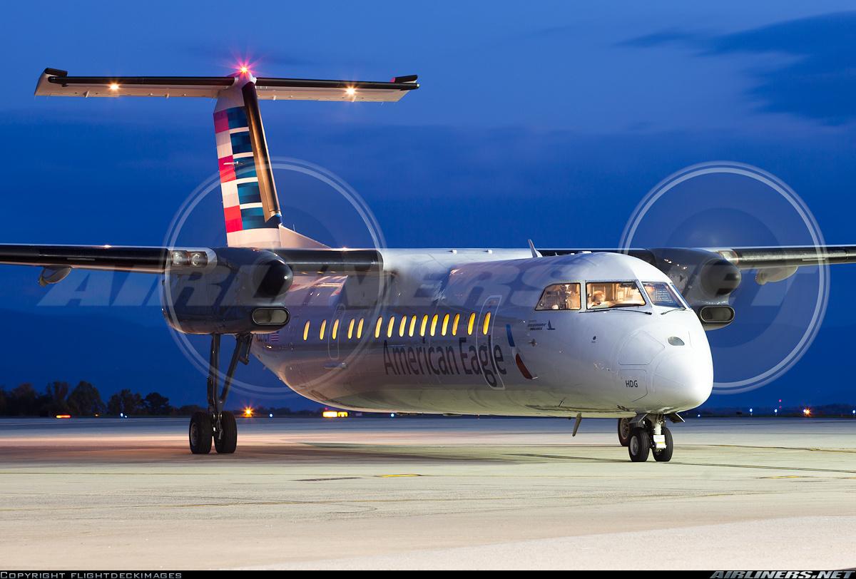 Peidmont De Havilland Canada Dash 8