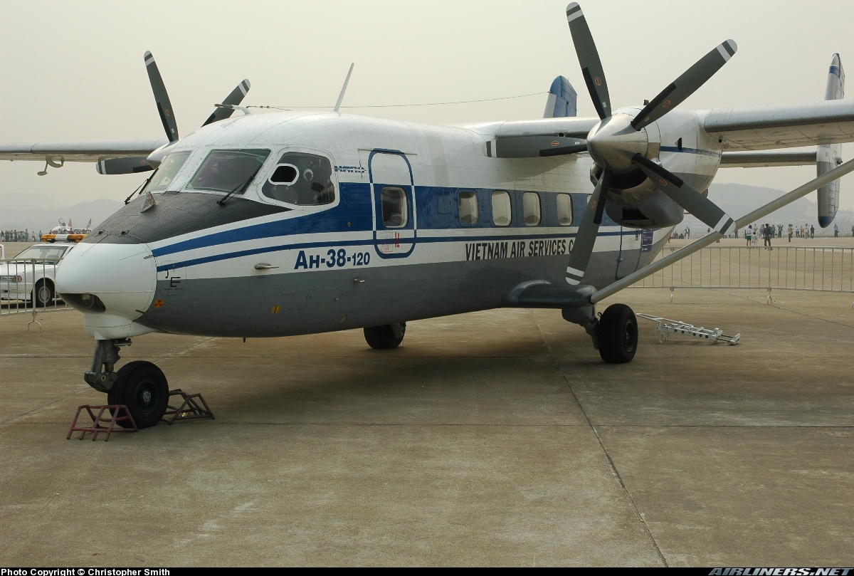 Antonov An-38-120 - Vietnam Air Services - VASCO ...