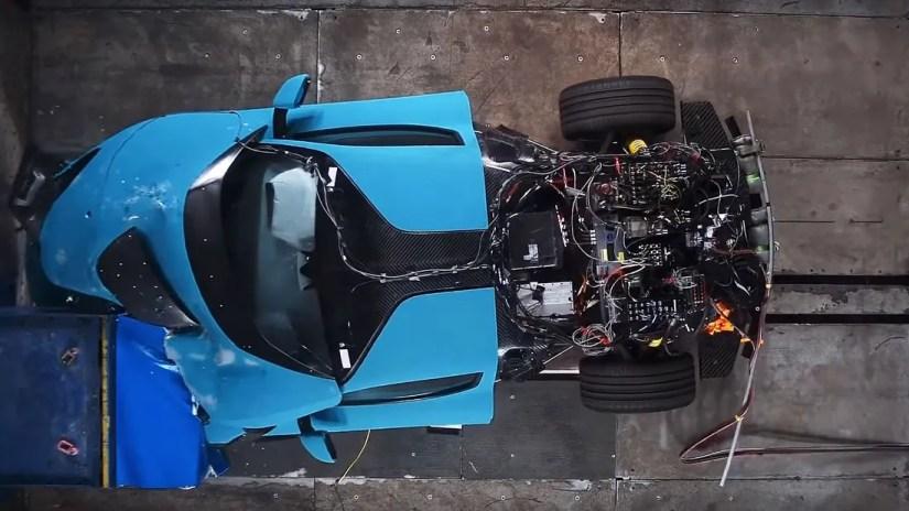 11/2020, Rimac C_Two Frontal Offset Crashtest