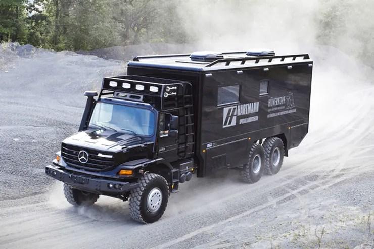 Mercedes Zetros Wohnmobil
