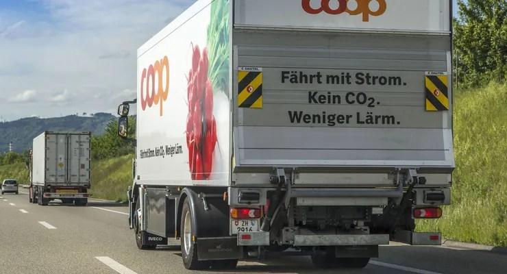 Schweiz: Wasserstoff-Lkw kurz vorm Start