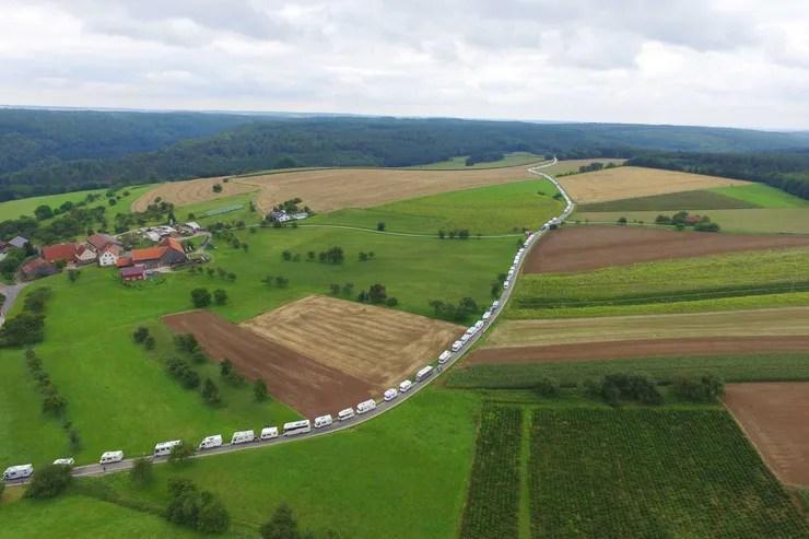 Wohnmobilkonvoi Walldürn 2018