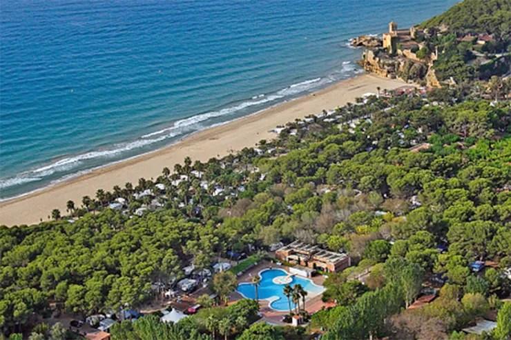 Camping Tamarit Beach Resort an der Costa Daurada