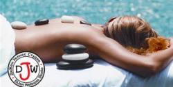 70 минути комбиниран масаж на цяло тяло - с вулканични камъни, вендузотерапия и масаж на ходилата