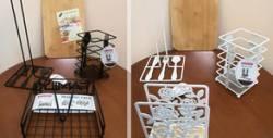 Бамбукова дъска за рязане, поставка за прибори, салфетник и поставка за кухненска хартия