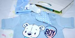 Подаръчна кутия за новородено Baby Walk Out Royal Box