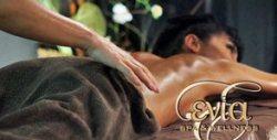 Масаж на цяло тяло - ароматерапевтичен с ползване на арома сауна, или Хавайски Ломи-ломи с ползване на парна баня