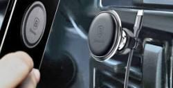 Магнитна стойка за телефон в автомобила