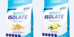 700гр протеин на прах Whey Isolate 6PAK Nutrition - с вкус на ванилия или вафла