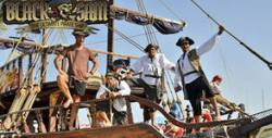 3 часа пиратско парти и разходка в залива на Несебър и Слънчев бряг, с обяд и възможност за гмуркане