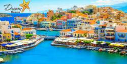 Посети остров Крит! 3 нощувки с възможност за закуски и вечери или на база All nclusive, плюс самолетен билет